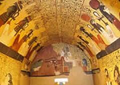 La ricostruzione della tomba di Pashedu