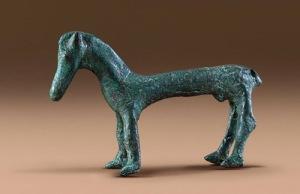 Cavallino in bronzo: il cavallo veneto era famoso