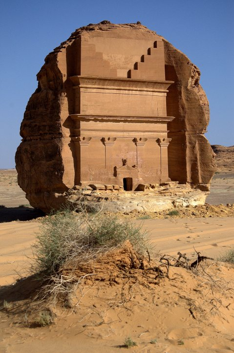 Madain Saleh, in Arabia Saudita, l'altra Petra realizzata dai Nabatei