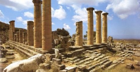 L'area archeologica di Cirene, nota come l'Atene d'Africa