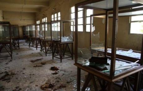 Vetrine rotte e reperti dispersi: il museo di Malawi dopo l'assalto