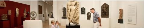 L'interno del Dallas Museum of Art negli Usa