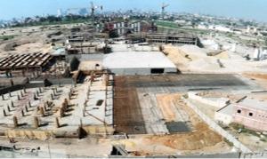 Il cantiere del nuovo museo nazionale della Civiltà egizia