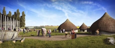I prototipi di case/capanne neolitiche collegate con Stonehenge
