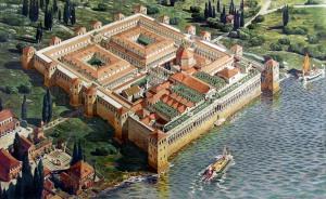 Ricostruzione del Palazzo di Diocleziano a Spalato