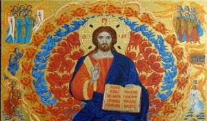 L'icona processionale con il Cristo Pantokrator su tavola