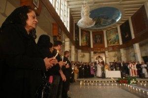 La cattedrale siro-cattolica di Baghdad dove resteranno le reliquie