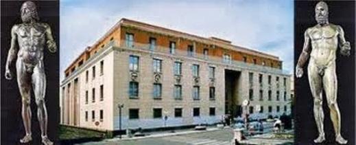 I Bronzi di Riace sono il simbolo del Museo della Magna Grecia e di Reggio Calabria