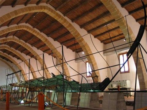 La nave punica di Marsala nel museo archeologico nazionale Baglio Anselmi