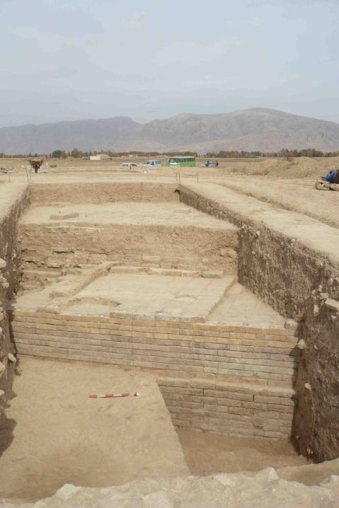 L'edificio di epoca proto-achemenide portato alla luce nello scavo di Tol-e Ajori, vicino a Persepoli in Iran