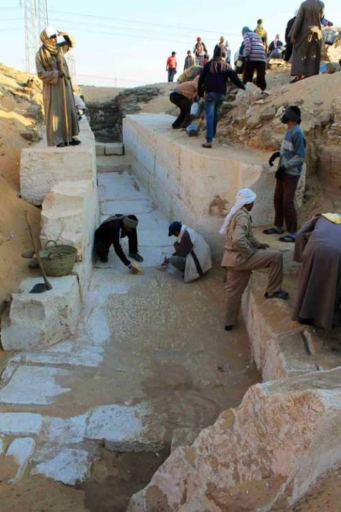 La tomba reale del faraone Sobekhotep (XIII dinastia) scoperta dagli archeologi americani
