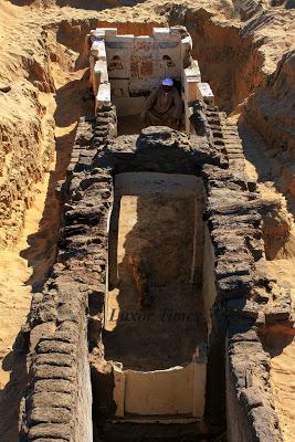 La tomba del faraone Senekbay della Dinastia di Abido trovata accanto a quella di Sobekhotep