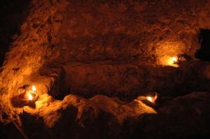 I suggestivi ambienti delle catacombe di S. Sofia a Canosa