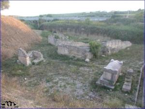 Al centro della necropoli di Lamapopoli sorge la basilica di S. Sofia
