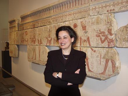 Eleni Vassilika, direttore del museo Egizio di Torino