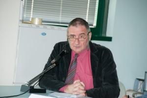 Il prof. Sauro Gelichi dell'università Ca' Foscari di Venezia
