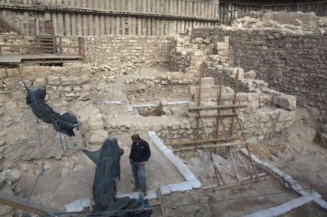 Edificio asmoneo: è il primo che è stato portato alla luce a Gerusalemme