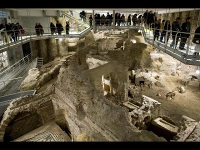 Il nuovo allestimento della necropoli della via Triumphalis in Vaticano