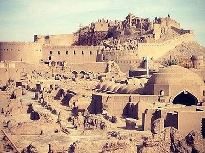 Gli effetti devastanti del terremoto del 2003 a Bam in Iran