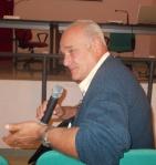 Il prof. Carlo Peretto dell'università di Ferrara