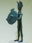 Bronzetto della civiltà dei nuraghi in mostra a Cagliari