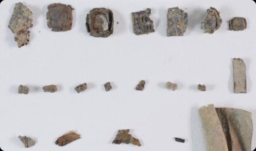 I preziosi filatteri con nuovi manoscritti da Qumran