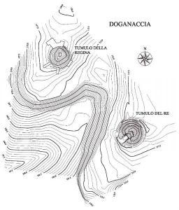La necropoli della Doganaccia a Tarquinia