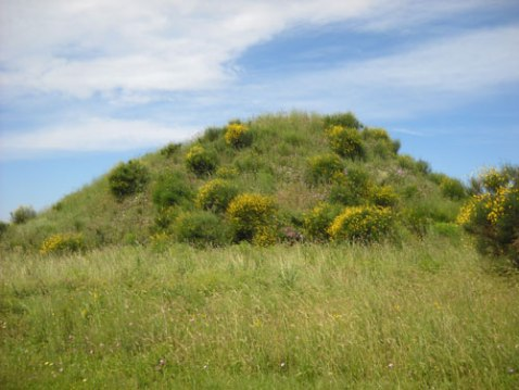 Il Tumulo del Re alla necropoli della Doganaccia a Tarquinia