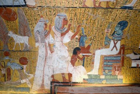 La tomba TT290 di Irynefer a Deir el Medina: ad Alba è riprodotta in scala 1:1