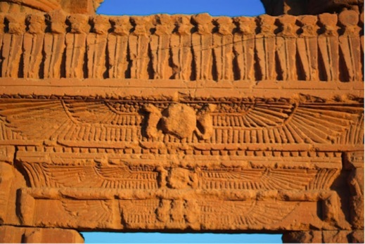 L'architrave del tempio meroitico creduto perduto ad Abu Erteila