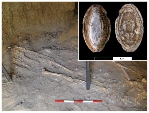 Lo scheletro di giovane vissuto 3200 anni fa ad Amara West (odierno Sudan)