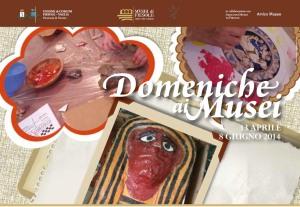 """Manifesto delle """"Domeniche al museo"""" a Fiesole"""