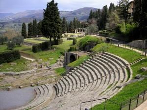 Il teatro antico nell'itinerario archeologico di Fiesole