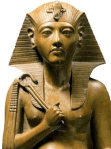 Il faraone Amenofi III della XVIII dinastia