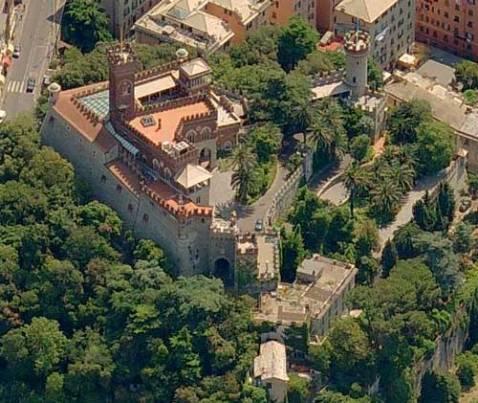 Il castello D'Albertis a Genova è dal 2004 sede del museo delle Culture del Mondo