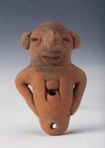 Una statuina precolombiana in mostra a Genova