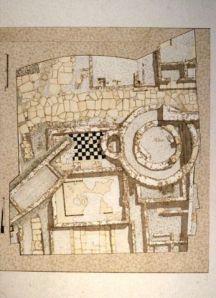Il rilievo dell'area archeologica di Feltre