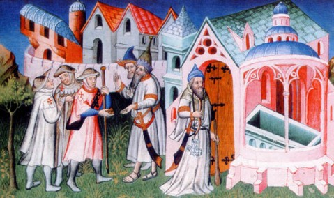 Pellegrinaggi ieri e oggi: nel Medioevo pellegrini al Santo Sepolcro in Terra Santa