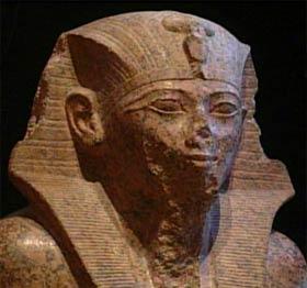 Il faraone Thutmosi IV della XVIII dinastia
