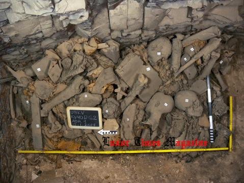 Le mummie della famiglia reale della XVIII dinastia trovate nella tomba KV40 della Valle dei Re