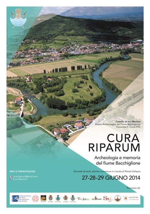 """""""Cura riparum"""": tre giornate di studio sull'archeologia e non solo del fiume Bacchiglione a Cervarese S. Croce"""