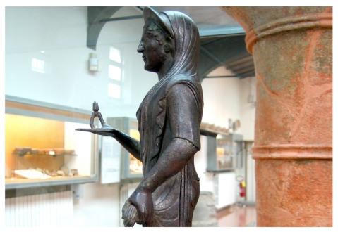 """Dal museo nazionale Etrusco di Marzabotto parte lo spettacolo itinerante """"Marzabotto 1889"""""""