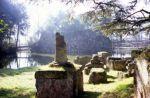 L'area degli scavi del sito etrusco di Marzabotto