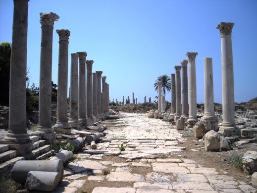 L'area archeologica di Tiro rientra nel Programma Chud che ne prevede il recupero con fondi anche della Cooperazione italiana