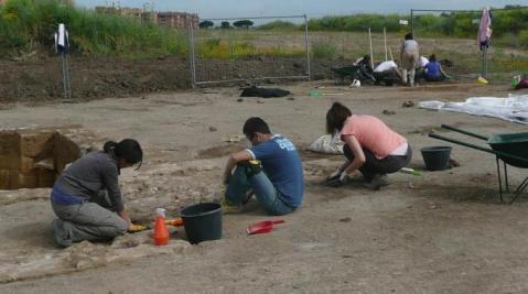 Studenti dell'università di Tor Vergata hanno scoperto un impianto termale del I sec. d.C.