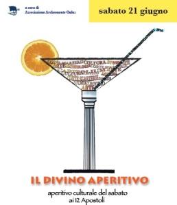 Il Divino Aperitivo, progetto pilota dell'ass. Archeonaute di Verona
