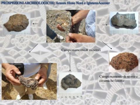 Gli archeologi hanno già trovato ad Aouam molte scorie di minerali