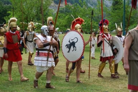 I rievocatori di Methlum Kainual che saranno presenti all'intervista impossibile con l'ammiraglio etrusco Vel Kaikna