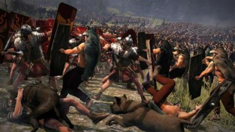 Ricostruzione della sanguinosa battaglia della Selva di Teutoburgo del 9 d.C. che fu una disfatta per i romani