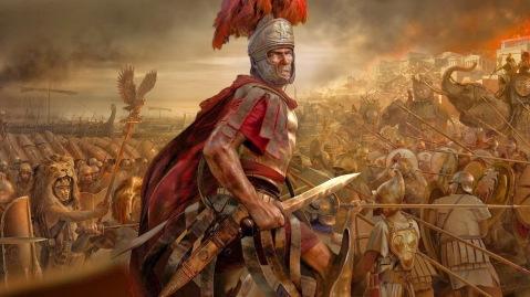 Il generale romano Publio Quintilio Varo che, vistosi sconfitto, si tolse la vita